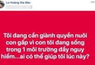 Diễn viên Gia Bảo bất ngờ đăng đàn đòi quyền nuôi con sau 2 năm ly hôn, bà xã Hoài Lâm vào cuộc bênh vực anh trai