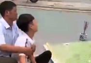 Chồng 20 tuổi gào khóc thảm thiết bên thi thể vợ mang thai bị xe tải cán
