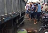 Nữ tạp vụ quét rác bị xe tải lùi cán chết thương tâm ở Bình Dương