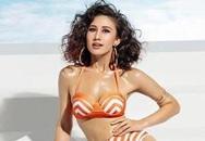 Cô gái lai gây tranh cãi khi thắng thử thách ở Hoa hậu Hoàn vũ