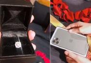 Lê Thúy được chồng tặng nhẫn kim cương