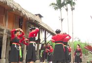"""Độc đáo """"điệu múa Tết"""" của dân tộc Cao Lan ở Tuyên Quang"""