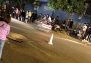 Bốc đầu xe máy khiến người ngồi sau bay ra ngoài, bị ô tô cán