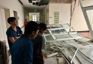 Bão số 9 quật tung kính chắn, vỡ tường rào nhiều cơ sở y tế