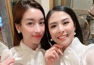 Dàn 'bông hậu' mừng sinh nhật Đỗ Mỹ Linh