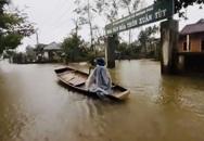 Thừa Thiên - Huế: Nước các sông đang lên, học sinh vùng thấp trũng nghỉ học từ chiều nay