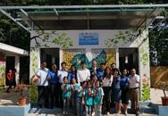 Trao tặng nhà vệ sinh bằng gạch chai nhựa đầu tiên tại Việt Nam cho học sinh tỉnh Thái Nguyên