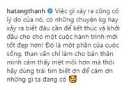 """Xôn xao trước dòng chia sẻ của Tăng Thanh Hà: """"Than vãn chỉ làm cho bản thân mình cảm thấy mệt mỏi hơn"""""""