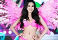 Nữ sinh cao 1,67 m tự tin ở Hoa hậu Việt Nam