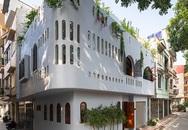 Nhà Hà Nội có vô vàn cửa oval đón nắng