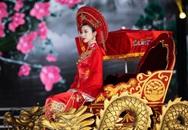 Bí mật màn ngồi kiệu rồng hoá Thánh Mẫu của Đỗ Mỹ Linh tại Chung kết Hoa hậu Việt Nam 2020