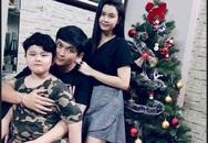 Tim khoe ảnh trang hoàng nhà cửa, chuẩn bị đón Giáng sinh bên vợ cũ Trương Quỳnh Anh và con trai