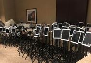 Bức ảnh phản ánh hiện thực đau thương của đại dịch Covid-19: Dàn máy iPad được chuẩn bị để bệnh nhân sắp qua đời từ biệt người thân