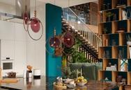Ngôi nhà rộng rãi gây ấn tượng khi sử dụng tầng lửng làm phòng đọc