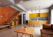 Căn nhà tối giản dùng gạch đỏ làm điểm nhấn của đôi vợ chồng trẻ ở Vũng Tàu