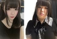 Nổi tiếng xinh như búp bê, hot girl Nhật bị bóc mẽ nhan sắc thật