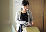 Mẹ Nhật ba con nhàn tênh nhờ vứt bớt đồ đạc