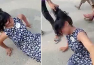 Một mình tay không đến ngăn hôn lễ của chồng với vợ hai, người phụ nữ bị đánh ngược lại, nhân chứng đứng nhìn mà không can thiệp