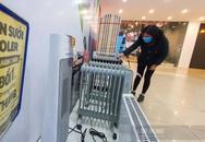 Nhập không đủ bán, siêu thị tại Hà Nội gấp rút bổ sung thiết bị sưởi