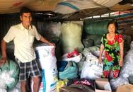 Đôi vợ chồng nhặt ve chai trả lại túi xách chứa hơn 1 tỷ đồng tiền, vàng
