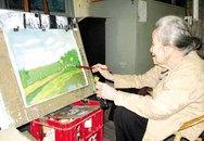 Lão bà 94 tuổi vẫn say mê vẽ