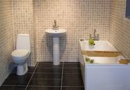 Mẹo vệ sinh bồn tắm trắng sáng như mới