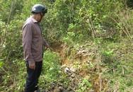 Dân hoang mang vì ngọn núi xuất hiện nhiều vết nứt lớn