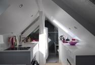 Ngắm căn hộ áp mái 16m² với cách bài trí siêu thông minh