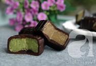 Tự làm bánh trung thu chocolate ngon, lạ