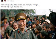 Nghệ sĩ Việt bật khóc tiễn biệt Tướng Giáp