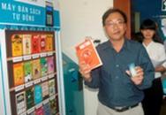 Thử nghiệm máy bán sách tự động đầu tiên tại VN