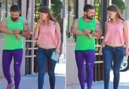 Nam diễn viên gây choáng khi mặc quần bó không nội y hẹn hò với bạn gái