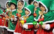 Lạ kỳ cách đón giáng sinh của các nước châu Á