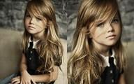 Cận cảnh gương mặt như thiên thần của bé gái xinh đẹp nhất thế giới