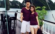 Bạn gái xinh và cao như người mẫu của sao nam Việt