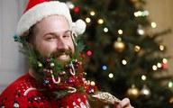 Trang trí... râu để đón Noel