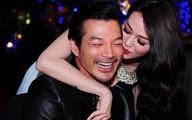 Khánh My ôm hôn Trần Bảo Sơn tình cảm trong tiệc sinh nhật