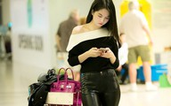 Ngọc Trinh đi Hàn Quốc quay quảng cáo cát xê 1 tỷ đồng