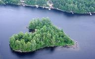 Ngắm hòn đảo tuyệt đẹp có hình trái tim