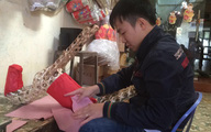 """Làng nghề ven đô giữa mùa hàng Tết (1):  Hiu hắt thị trường đồ """"cõi âm"""""""