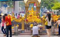 Cận cảnh ngôi đền gần nơi bị đánh bom ở Thái Lan