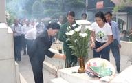 Tri ân các anh hùng liệt sỹ tại Ngã ba Đồng Lộc