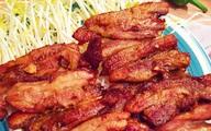 Thịt ba chỉ nướng ngũ vị thơm lừng cả bếp
