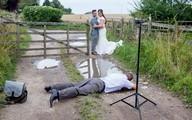 Choáng với thực tế phũ phàng sau bộ ảnh cưới lung linh