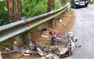 Xe máy rơi xuống vực ở Tam Đảo, đôi nam nữ thiệt mạng