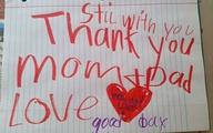 Thư tạm biệt bố mẹ xúc động của cậu bé 6 tuổi trước khi chết