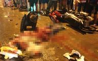 Tông chết người, xe khách chạy trốn trong đêm mưa
