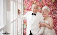 Bộ ảnh cưới đẹp ngỡ ngàng của cặp vợ chồng cao tuổi khiến nhiều người ghen tị