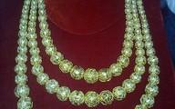 Kỳ thú sợi dây chuyền vàng cực khủng 161 lượng đeo lên tượng Bà Chúa xứ