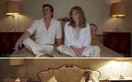 Brad Pitt bị con gái rượu trêu chọc ở trường quay